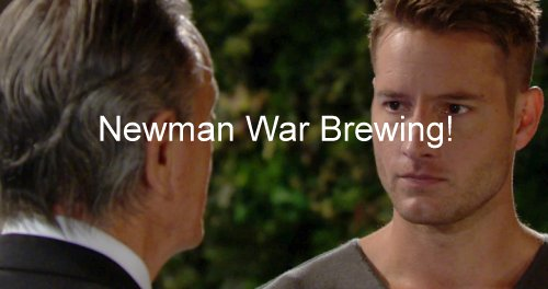 The Young and the Restless (Y&R) Spoilers: Newman War Explodes - Victor Teams With Adam, Ousts Nick - Sage Baby Daddy Revealed
