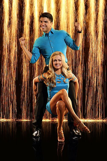 Victor Ortiz Dancing With the Stars Foxtrot Video 3/18/13