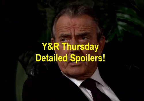The Young and the Restless (Y&R) Spoilers: Victor Cuts Deal to Save Newman - Marisa Seduces Luca - Sage Shocked at Christening