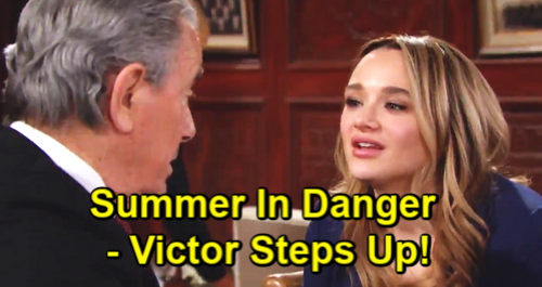 The Young and the Restless Spoilers: Danger Hits for Summer, Victor Steps Up – Theo's No Match for The Moustache
