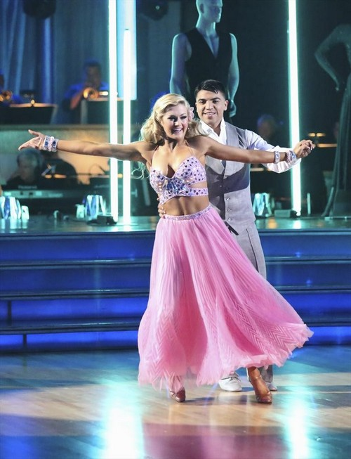 Victor Ortiz Dancing With the Stars Rumba Video 4/22/13