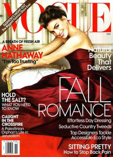 Anne Hathaway Talks About Being Too Trusting In The New Issue Of Vogue