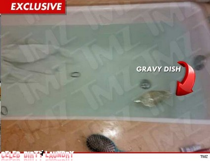 First Look At Bathtub Where Whitney Houston Died (Photo)
