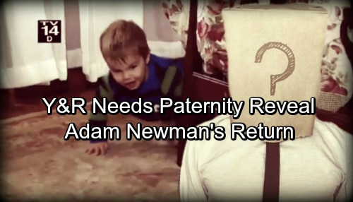 The Young and the Restless Spoilers: Y&R Needs Christian's Paternity Reveal and Adam Newman's Return
