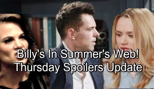 The Young and the Restless Spoilers: Thursday, June 14 Update – Nick Gives Up Christian – Summer Keeps Billy Close