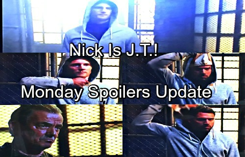 The Young and the Restless Spoilers: Monday, July 16 Update – Nick Rips Off J.T. Mask – Jack Not Phillip's Son – Phyllis Catches Billy