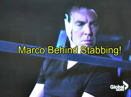 The Young and the Restless (Y&R) Spoilers: Marco Behind Brutal Stabbing Attack - Victor and Ian Discover Connection?