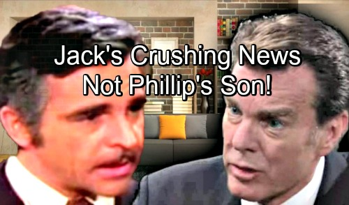 The Young and the Restless Spoilers: Jack's Dreams Shattered, Plans for Chancellor Empire Crumble – Not Phillip's Son After All