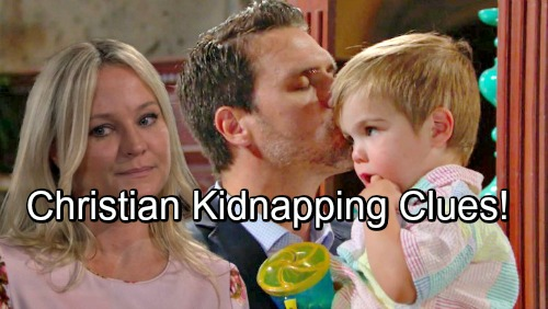 The Young and the Restless Spoilers: Christian Kidnapping Clues Emerge – Adam Newman Back for His Boy?