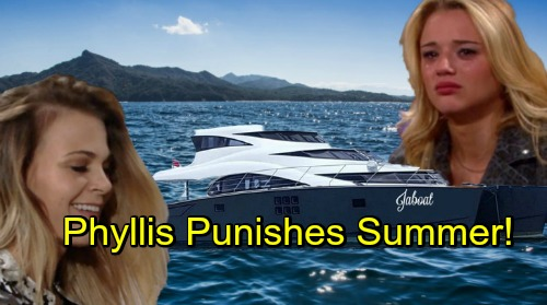 The Young and the Restless Spoilers: Phyllis Fights Back – Punishes Summer For Devious Plot