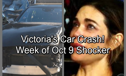 The Young and the Restless Spoilers: Victoria's Car Crash Sparks Panic – Guilt Hits for Both Loved Ones and Enemies