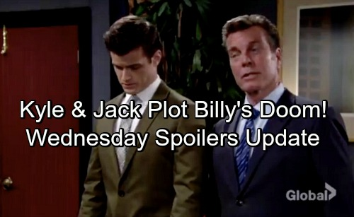 The Young and the Restless Spoilers: Wednesday, May 23 Update – Jack and Kyle Plot Billy's Downfall – Sharon and Nick Battle