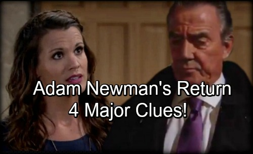 The Young and the Restless Spoilers: 4 Major Clues About Adam Newman's Return – Check Out These Hot Hints