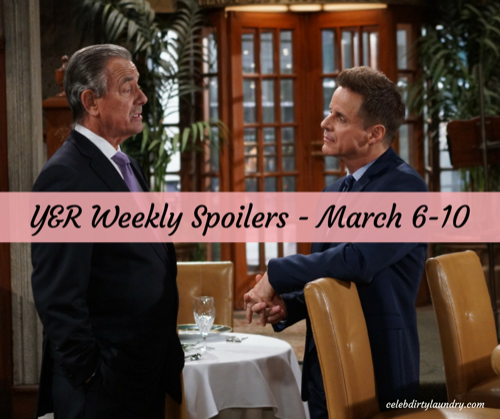 The Young and the Restless Spoilers Week of March 6: Big Surprises, Fierce Faceoffs and New Opportunities