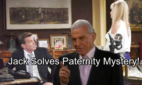The Young and the Restless Spoilers: Jack Solves Paternity Mystery – Ashley Exits Y&R as Abbott Legacy Restored?