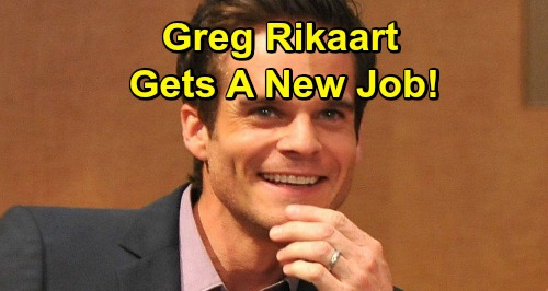 Days of Our Lives Star Greg Rikaart Gets A New Job - The Young and the Restless Alum Books Prime-Time Role