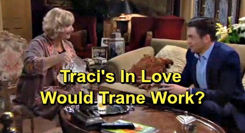 The Young and the Restless Spoilers: Traci Longs For Cane - Would Trane Make A Good Couple?