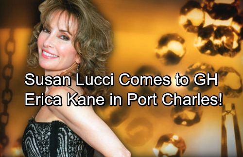 General Hospital Spoilers: Susan Lucci Coming to GH – Maxie Hints at Erica Kane's Port Charles Arrival