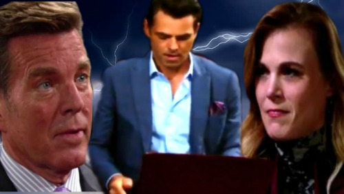 The Young and the Restless Spoilers: Summer Reignites Jack and Billy's Feud – Brothers Go to War Over Phyllis