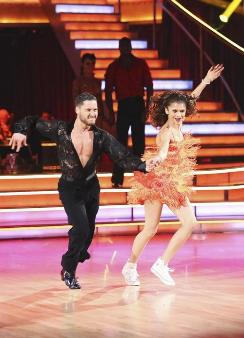 Zendaya Dancing With the Stars Foxtrot Video 5/6/13