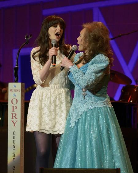 Zooey Deschanel: Channeling Her Loretta Lynn!