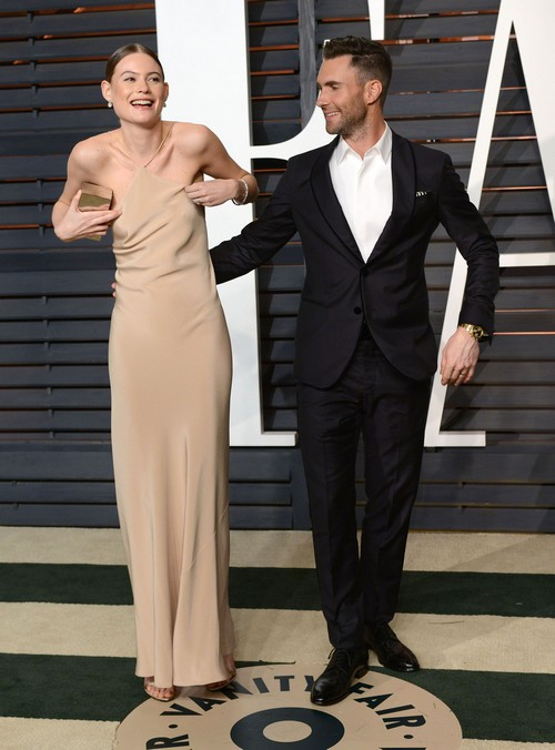 Adam Levine and Behati Prinsloo Divorce Rumors: 'The Voice' Coach Denies Marriage Trouble