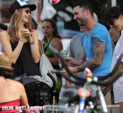 Did Adam Levine Get Engaged To Behati Prinsloo While Still Dating Nina Agdal - Cheater or Douche?