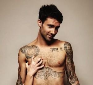 Maroon 5 singer Adam Levine goes nude