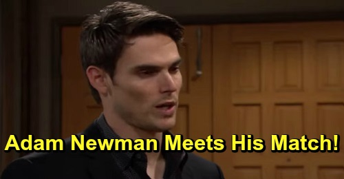 The Young and the Restless Spoilers: Adam Meets His Match - Is It Amanda Sinclair?