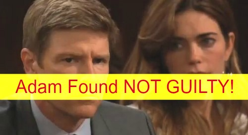 The Young and the Restless (Y&R) Spoilers: Adam Newman Found NOT GUILTY for Delia's Death - Genoa City Goes Insane!