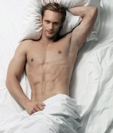 Alexander Skarsgard Goes Naked For Eight Hours on Set