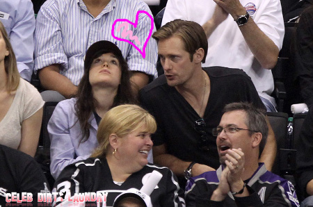 'True Blood' Star Alexander Skarsgard Sinks His Fangs Into New Girlfriend Ellen Page