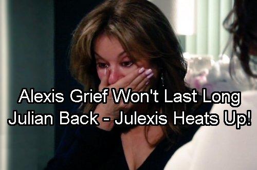 General Hospital Spoilers: Julian Back From Dead and Julexis Reunited – Nancy Lee Grahn confirms Steamy Love Scene