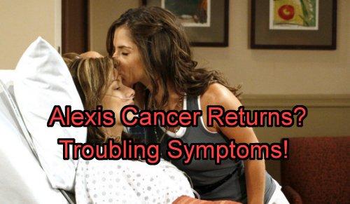 'General Hospital' Spoilers: Alexis Troubling Health Symptoms Emerge - Suffering Mental Break or Cancer Returns?