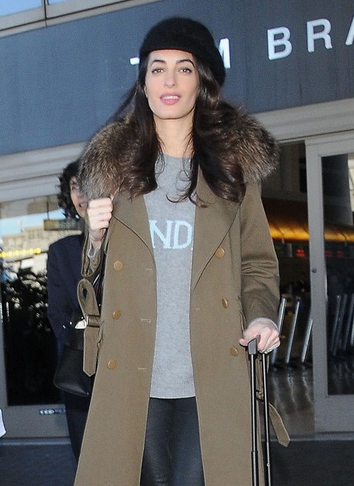 Amal Alamuddin Pregnancy And Twins Takes Toll On George Clooney - Nervous And Unprepared For Fatherhood