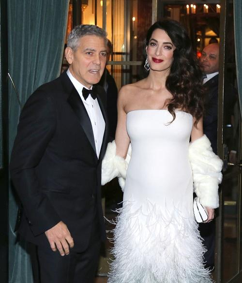 Amal Alamuddin Refuses To Hire Full-Time Nanny For Twins, Planning Six Month Break From the Spotlight