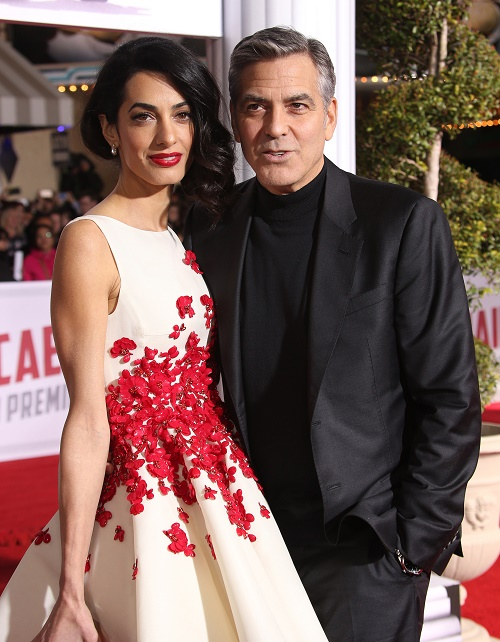 Amal Alamuddin Pregnant With Baby Bump: George Clooney Proud Father At Last