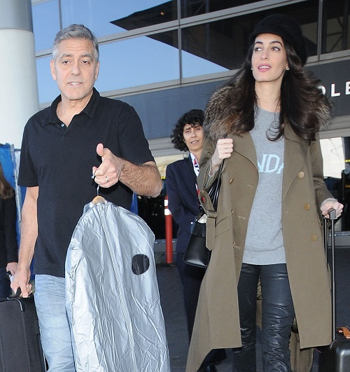 Amal Alamuddin 7 Months Pregnant With Twins: Giving Birth In London?