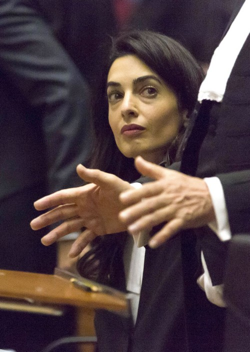 George Clooney Divorce: Amal Alamuddin Ignoring Husband, Putting Career First - Refuses To Be Showpiece Hollywood Wife?