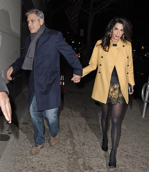 Amal Alamuddin Lands Vogue Cover: George Clooney's Wife Meets Anna Wintour For Lunch?