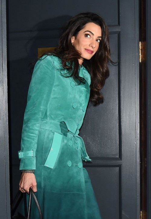 George Clooney and Amal Alamuddin Pregnancy News: Constructing Baby Wing and Lavish Nursery At Berkshire Mansion?