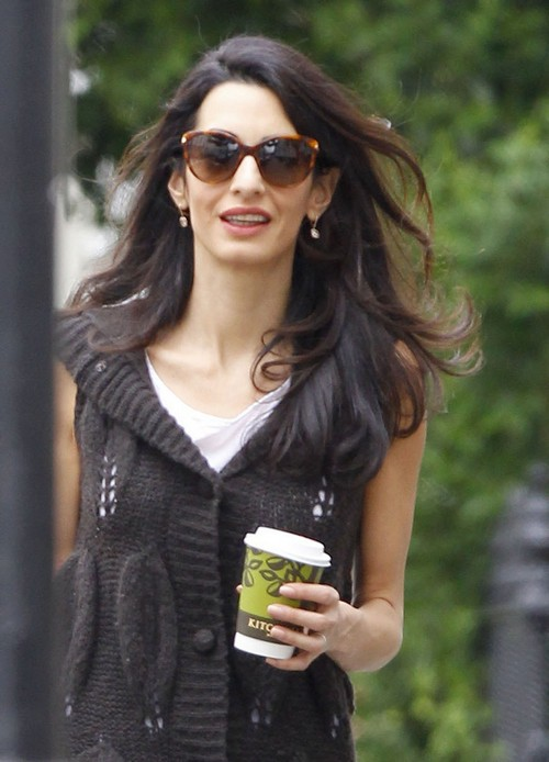 George Clooney Divorce: Amal Alamuddin Too Skinny, Marriage Taking Toll - Rapid Weight Loss Worries Friends and Family?