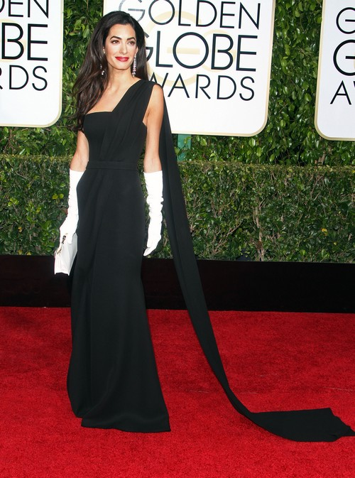 Amal Alamuddin Starving Herself To Fit Into George Clooney's Hollywood - Skeletal Golden Globe 2015 PHOTOS?