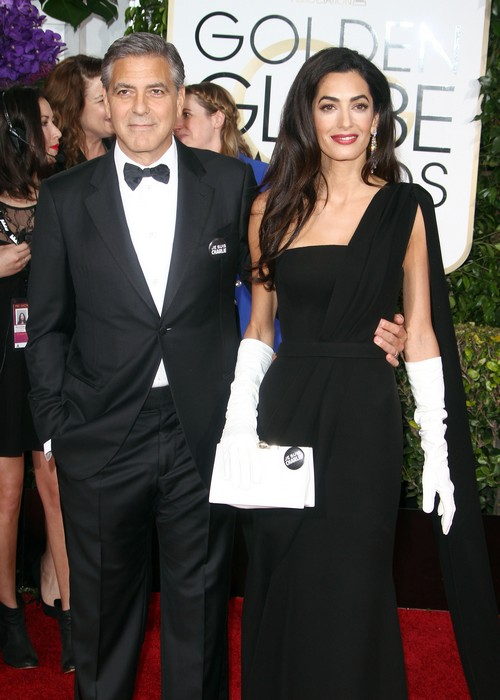 Amal Alamuddin and Giuliana Rancic Feud Over Amal's Fashion Style After Golden Globe Awards