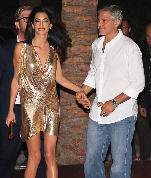 George Clooney Pursuing Showbiz Spots for Amal Alamuddin – Judge Judy, Celebrity Apprentice?