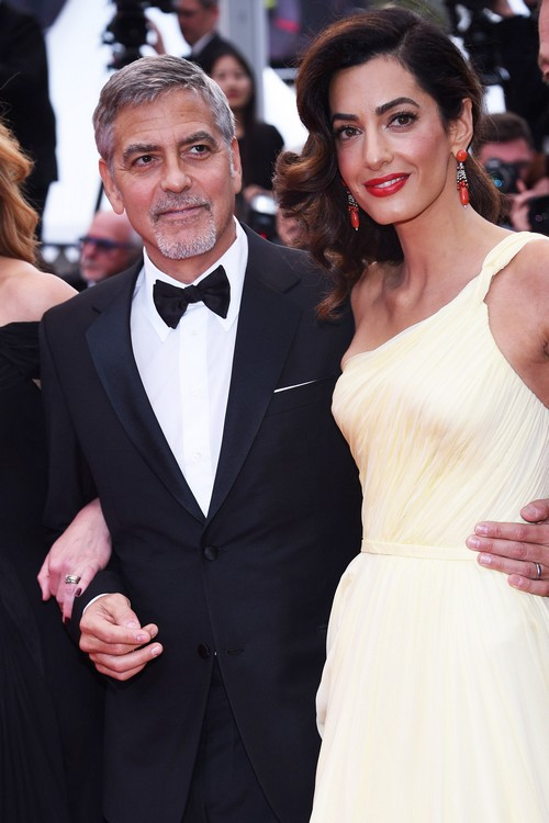 Amal Alamuddin Puts Law Career On Hold To Become A Celebrity Fashion Designer Celeb Dirty Laundry