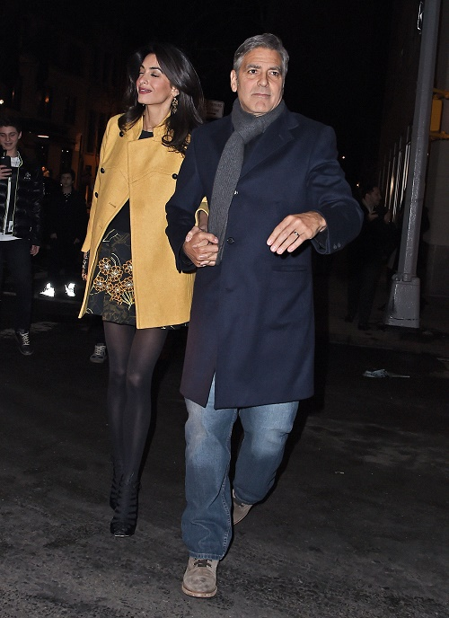 George Clooney, Amal Alamuddin Divorce: George's Control Freak Wife Puts Him On Strict Diet, Clooney Sick Of Amal's Rules?