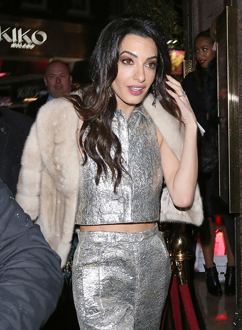 Amal Alamuddin Divorce Drama: Faces Career Crisis - George Clooney Demands Baby, Perfect Hollywood Wife?