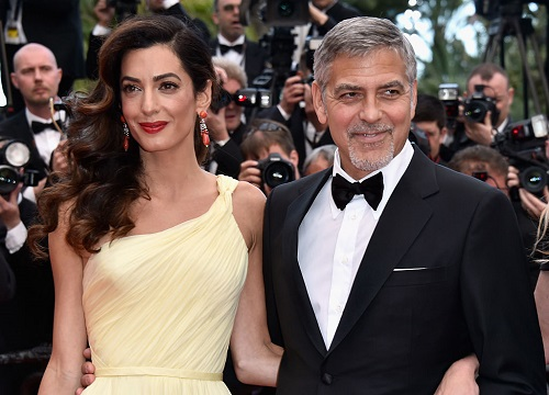George Clooney Proud Dad Of