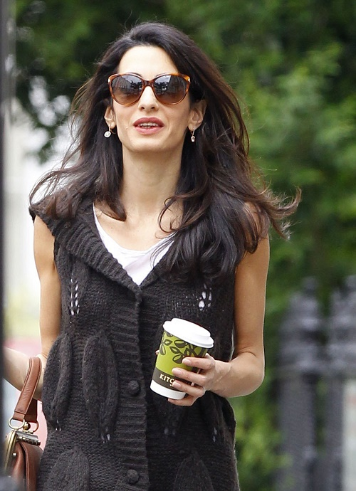 Amal Alamuddin Hires Personal Stylist: Desperate To Fit In With George Clooney Glamorous Hollywood Friends